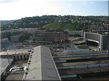 UNV1303 : Stuttgart, Hauptbahnhof - Blick 5 vom Bahnhofsturm von Richard Peschtrich