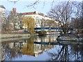 UUU9417 : Landwehrkanal bei Lohmühleninsel (Landwehr Canal at Lohmuehlen Island) von Colin Smith