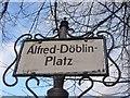 UUU9218 : Kreuzberg - Alfred-Döblin-Platz (Alfred Doeblin Square) von Colin Smith
