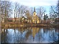 UVU0106 : Bohnsdorf - Dorfkirche und Dorfteich (Village Church and Pond) von Colin Smith