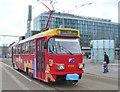 UUS1790 : Leipzig - Tram am Augustusplatz von Colin Smith