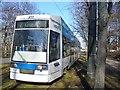 UUS1988 : Leipzig - Strassenbahnwagen (Tram) von Colin Smith