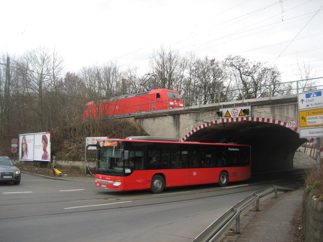 n rnberg rangierbahnhof ausfahrbahnhof lok bus mgrs 32upv5075 geograph deutschland. Black Bedroom Furniture Sets. Home Design Ideas