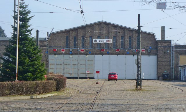 Berlin Betriebshof Niedersch Nhausen Niederschoenhausen