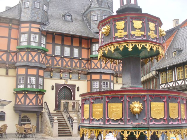 Wernigerode - Brunnen am Marktplatz (Market Square Fountain)