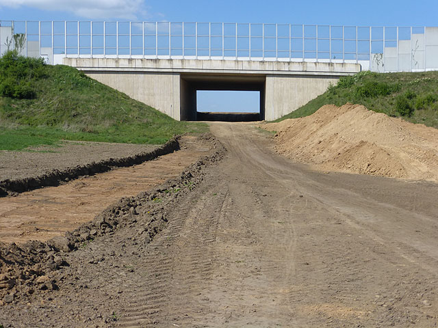 The Buschbell By-pass - still under construction