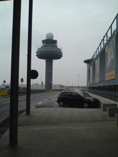 Alter Tower, Flughafen Hannover-Langenhagen (Old control tower, Hannover Airport)