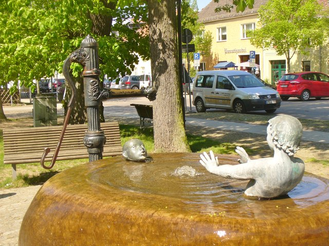 Rheinsberg - Brunnen (Fountain)