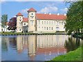 UUU5885 : Schloss Rheinsberg - Wasserschloss (Rheinsberg Palace - Moated Castle) von Colin Smith