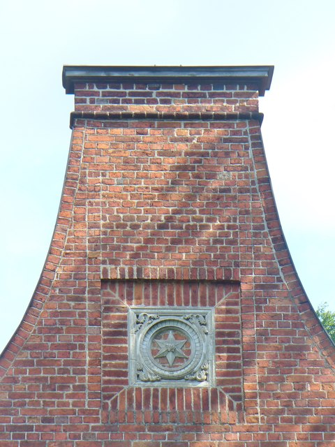 Potsdam - Jagdschloss Stern - Giebel ('Star Hunting Lodge' - Gable)