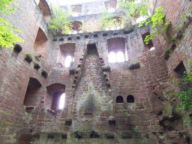 Burg Frankenstein (Pfalz):: MGRS 32UMV2576 :: Geograph ...