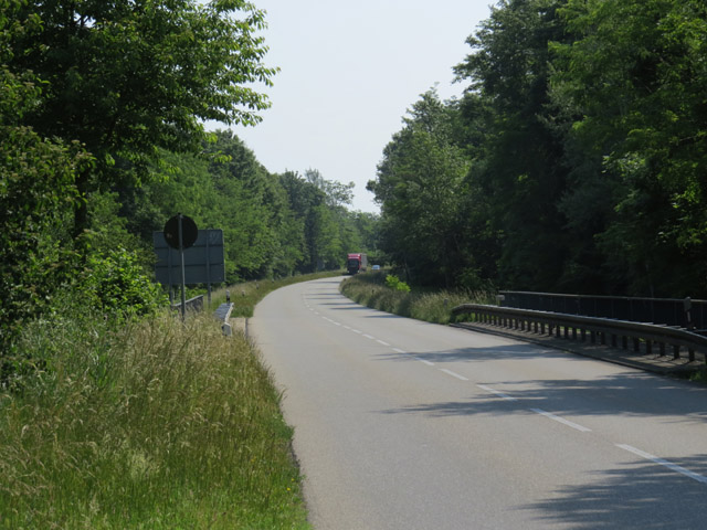 Die L113 in der Nähe der Französisch / deutschen Grenze (The L113 near the French / German border)