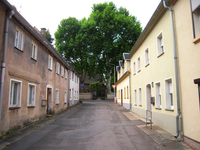 Friedhofsgasse in Ortrand