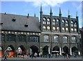 UPE1070 : Rathaus, Lübeck (Town hall, Lübeck) von Alpin Stewart