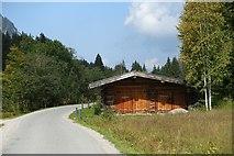 Hütte an der Mautstraße von Rottach-Egern zur Valepp