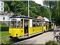 UVS4041 : Kirnitzschtalbahn - Endstation Bad Schandau (Kirnitsch Valley Tramway - Bad Schandau Terminus) von Colin Smith