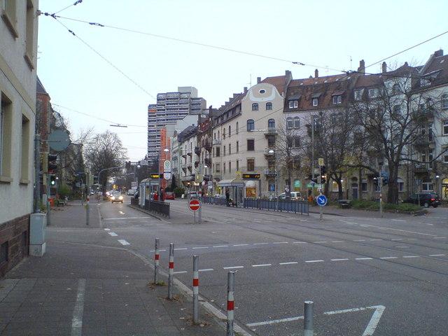 Straßenbahnhaltestelle Karl Wilhelm Platz Tram Stop Karl Wilhelm