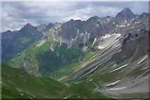 Blick vom Himmelecksattel nach Osten
