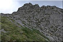 Felsen am Nordgrat des Großen Wilden