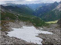 Schneefeld am Nordgrat des Großen Wilden