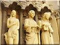 ULA3014 : Trier - Liebfrauenkirche - Portalfiguren (Notre Dame - Portal Figures) von Colin Smith