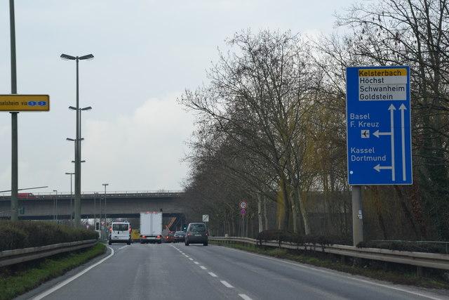 A5 Richtung Kassel