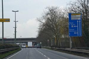 A5 Richtung Frankfurt