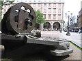 ULB7481 : Wuppertal Barmen - Marktplatz mit Brunnen von gps-for-five