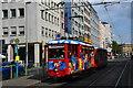 UMA7550 : Der Frankfurter Ebbelwei-Expreß - historische Stadtrundfahrt-Tram mit Apfelwein/saft-Ausschank von Klaus G