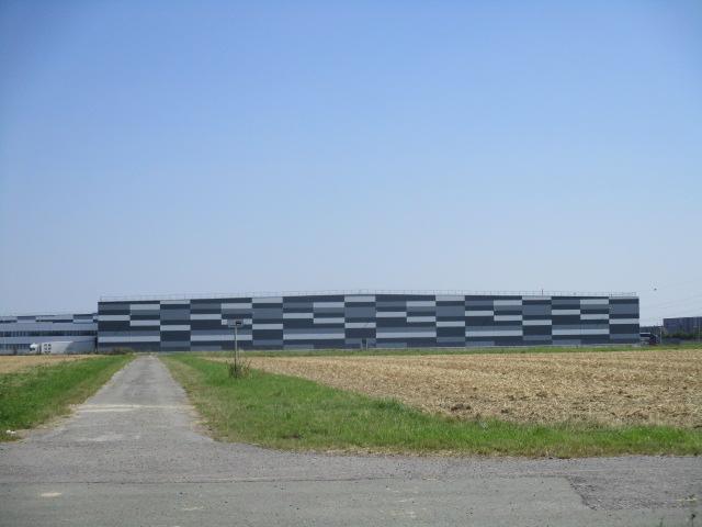 Bonen Blick Zum Lidl Zentrallager An Der A2 Mgrs 32umc1519