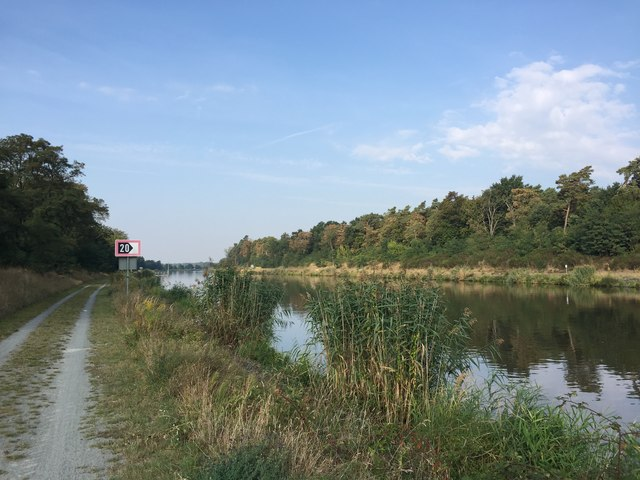 Kader Schleuse - Elbe-Havel-Kanal