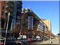 UUU8918 : Berlin Mitte - Straßenfront der Potsdamer Platz Arkaden an der Linkstraße von gps-for-five