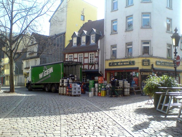 Vorbreitungen auf den St.-Patricks-Tag (Preparations for St Patrick's Day)