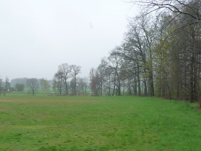 Bänsdorf - Felder im Norden (Bänsdorf - farmland north of the village)