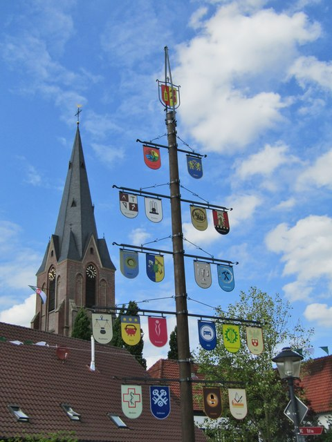 Erle - Maibaum (May Pole)