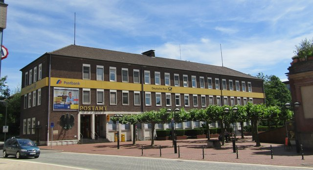 Wesel - Hauptpostamt (Main Post Office)
