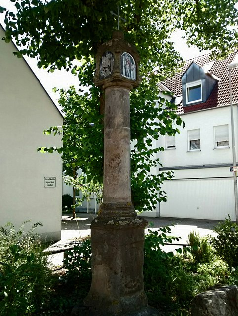 Martersäule in Alterlangen