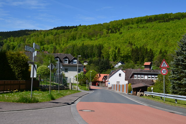Usinger Str. in Brombach im Taunus