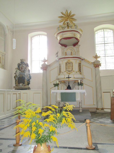 Meseberg - Hochaltar (Church Altar)