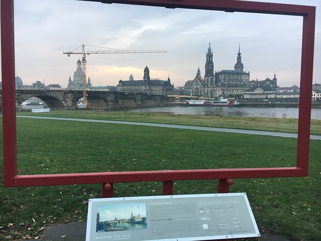 Dresden - Canaletto Blick