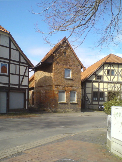 Altes Ziegelhaus in Wennigsen (Old brick house in Wennigsen)