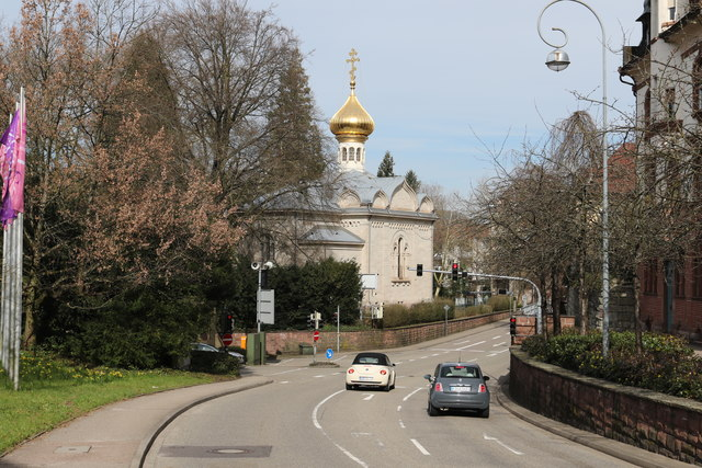 Russisch-Orthodoxe Kirche, Baden-Baden (Russian Orthodox Church, Baden-Baden)