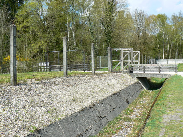 Perimeter fence, Dachau Concentration Camp memorial site
