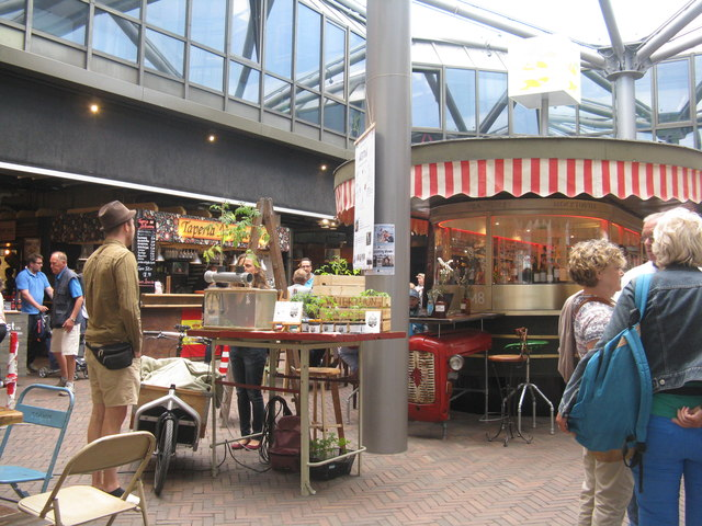 Markthalle in Bremen (Market hall in Bremen)