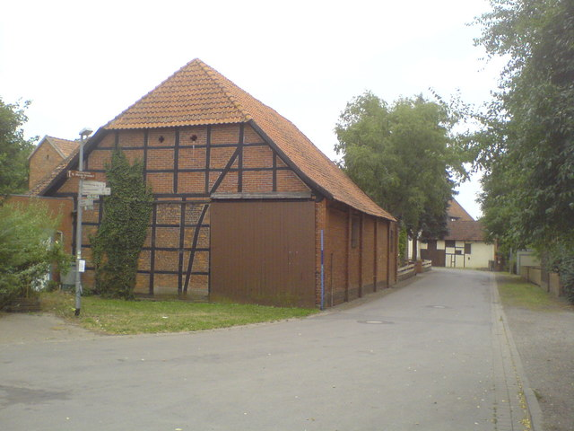 Fachwerkscheune in Grasdorf (Timber framed barn in Grasdorf)