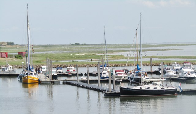 Baltrum - Sportboothafen (Leisure Boat Harbour)