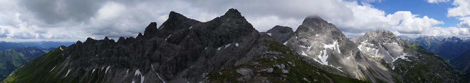Muttlerkopf: Blick nach Nordost