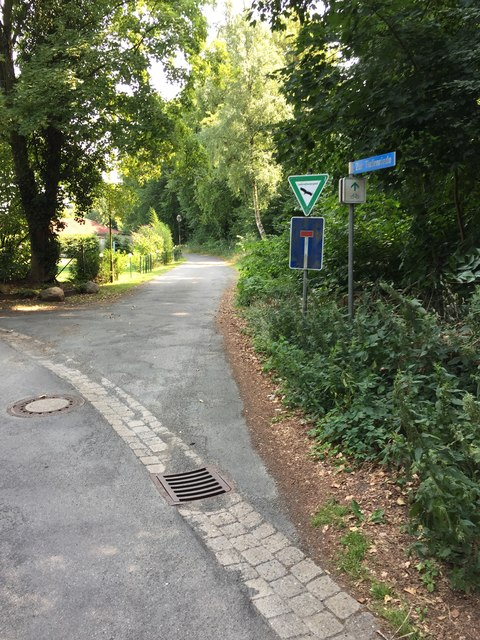 Radweg in Bad Rehburg