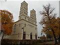 UVT3951 : Schinkelkirche Straupitz von Ralf Köhler