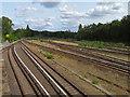 UUU8019 : Gleisanlagen - S-Bahnhof Berlin Olympiastadion von Sebastian und Kari